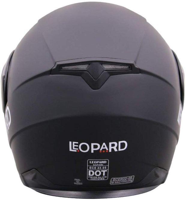 Leopard LEO-813 Full Face Motorcycle Helmet - Motorbike Helmet ECE 2205 /& DOT Approved 59-60cm Neon Pink L